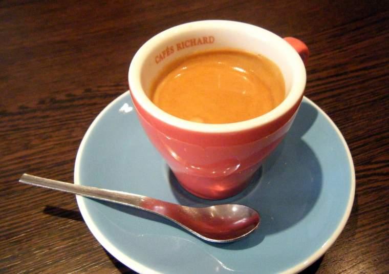 Cafe richard close-up