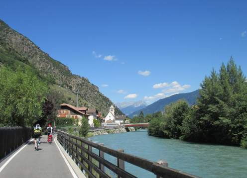 Innsbruck to Verona Bike