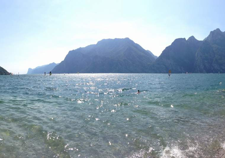 Shores of lake garda