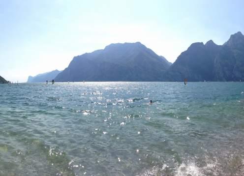 Shores of lake garda