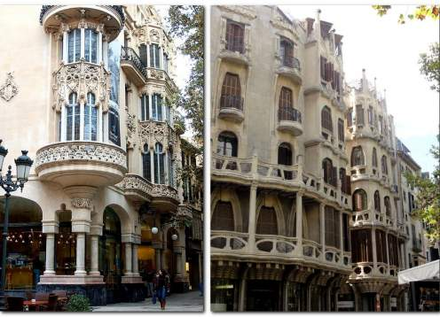 Art nouveau buildings in palma de mallorca mondo bike tours