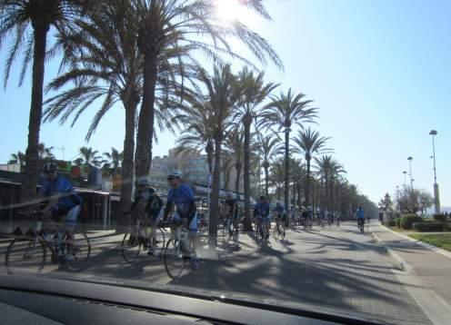 Palma de mallorca cyclists