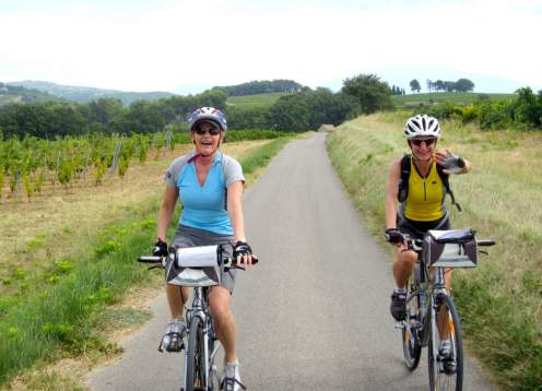 Biking ladies gen shot