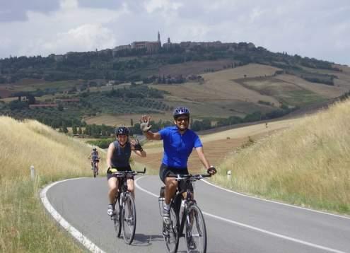 Biking shaqil and jenn pienza