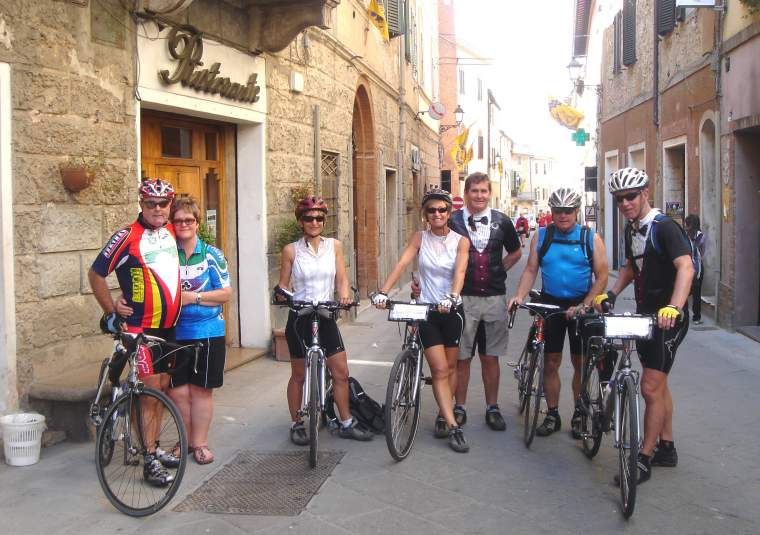 Pax group  bikes asciano