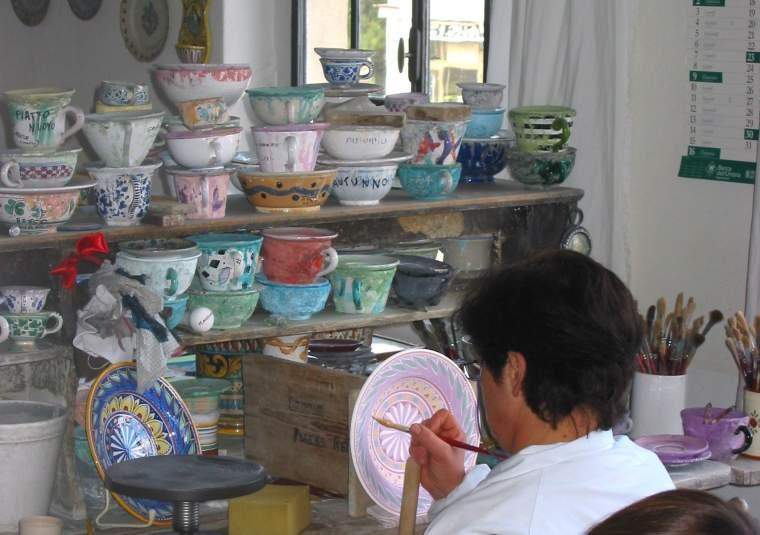 Deruta visit paiting