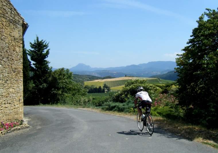 Biker in town, cr